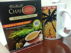 First experience with instant chai
